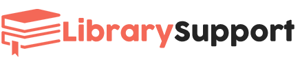 library-support-staff-logo